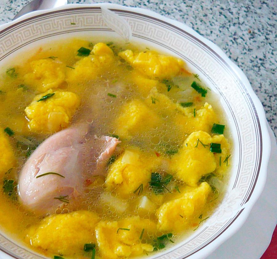Как сделать суп из галушек рецепт 29