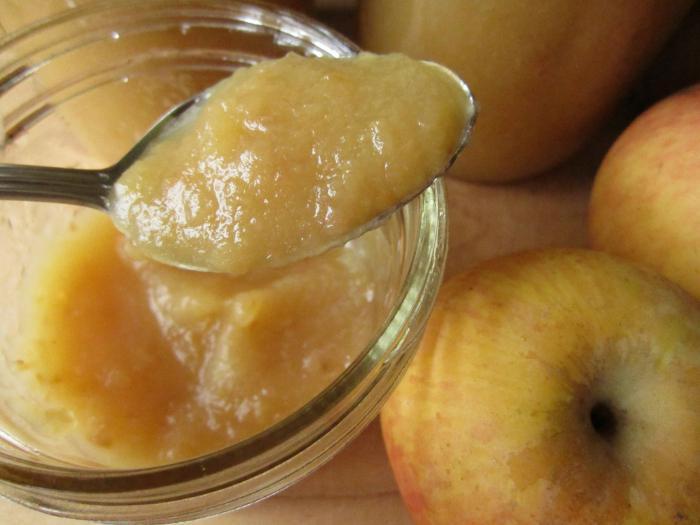 Яблочное пюре в домашних условиях