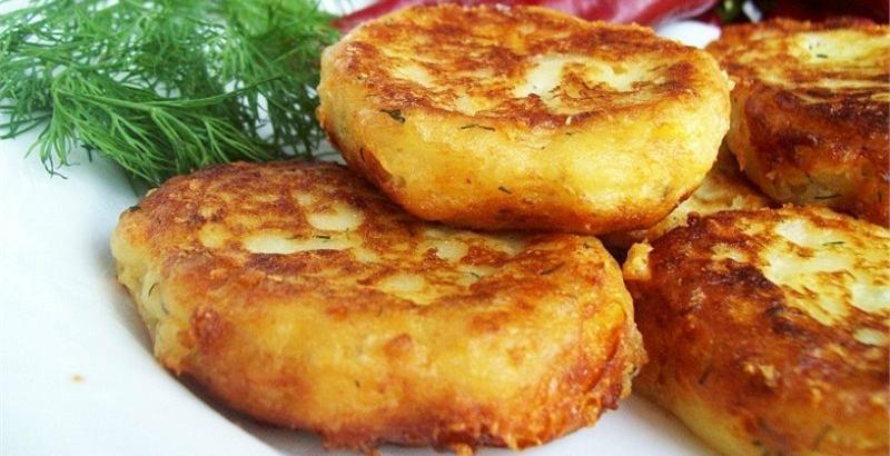 Картофельники из пюре рецепт с фото