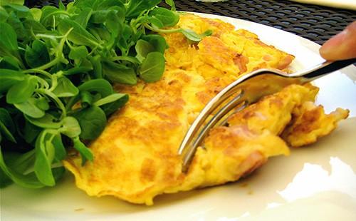 Омлет без молока – кулинарный рецепт
