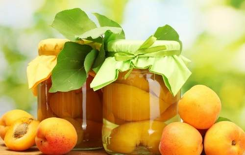 компот из слив и абрикосов