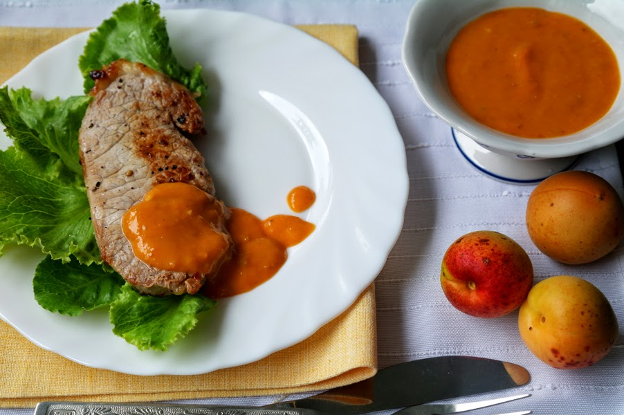 абрикосовый соус