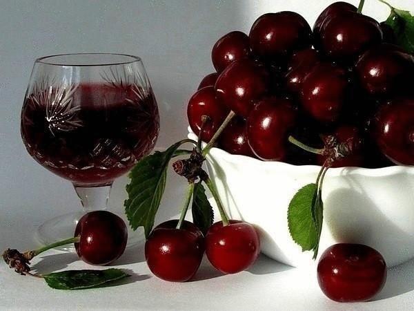 вино из сока вишни