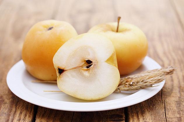 яблоки моченые с медом