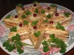 закусочный торт к новогоднему столу