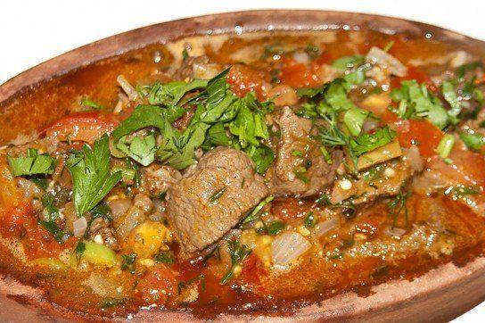 мясо по грузински