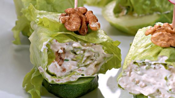 закуска зеленый листочек