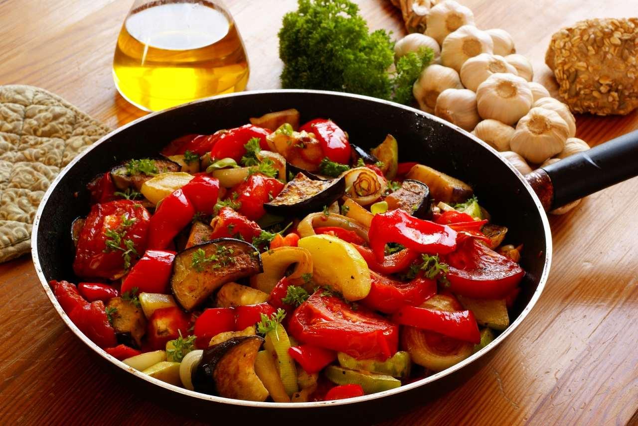 французский тиан из овощей