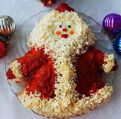 салат Санта