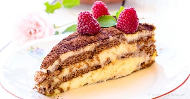 простой сметанный торт
