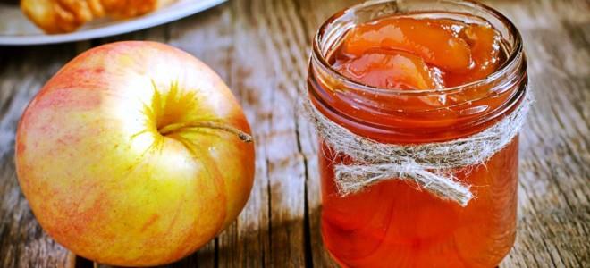 яблочное варенье с корицей и имбирем
